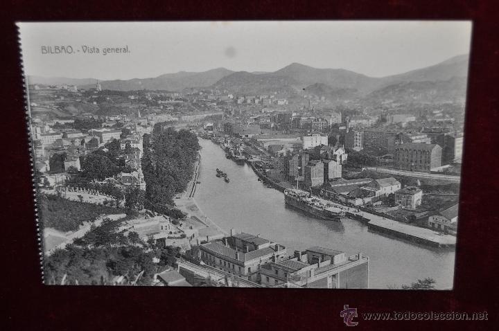 ANTIGUA POSTAL DE BILBAO. VISTA GENERAL. SIN CIRCULAR (Postales - España - Pais Vasco Antigua (hasta 1939))