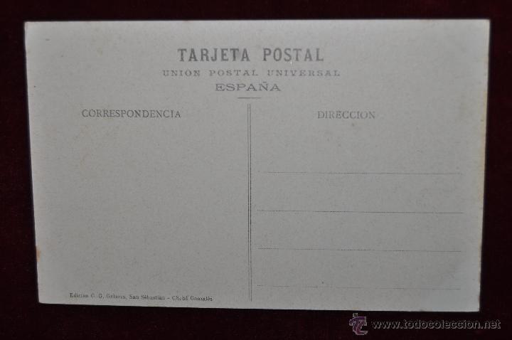 Postales: ANTIGUA POSTAL DE SAN SEBASTIAN. TERRAZA DEL MONTE IGUELDO. SIN CIRCULAR - Foto 2 - 43233847