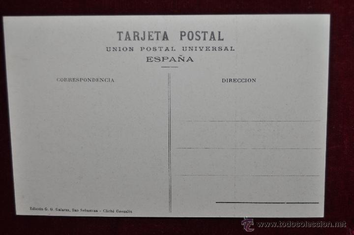 Postales: ANTIGUA POSTAL DE SAN SEBASTIAN. TERRAZA DEL MONTE IGUELDO. SIN CIRCULAR - Foto 2 - 43234983