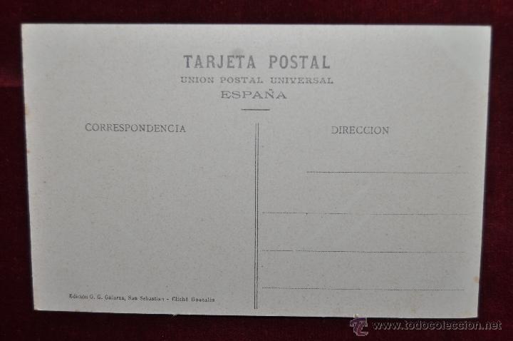 Postales: ANTIGUA POSTAL DE SAN SEBASTIAN. TEARTO VICTORIA EUGENIA, FACHADA SUR. SIN CIRCULAR - Foto 2 - 43235074