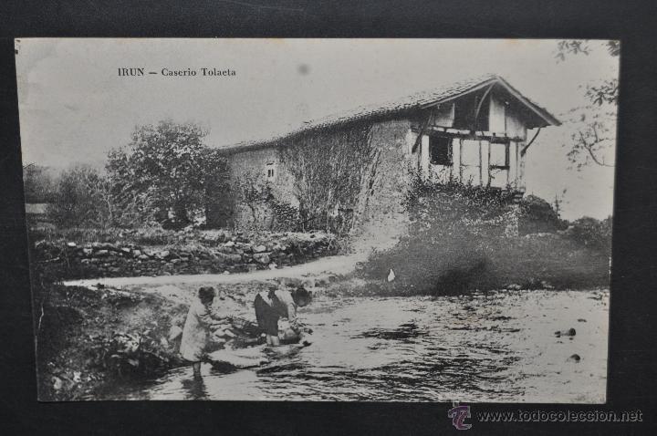 Antigua postal de irun guipuzcoa caserio tola comprar - Caserio pais vasco ...
