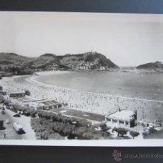 Postales: POSTAL SAN SEBASTIÁN. BALNEARIO DE LA PERLA DEL OCÉANO. CIRCULADA. . Lote 43451384