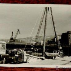 Postales: FOTOGRAFIA DE BILBAO (VIZCAYA).- AÑOS 50 - MIDE 10,3 X 7,3 CMS.. Lote 43529590