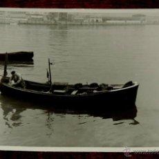 Postales: FOTOGRAFIA DE PORTUGALETE (VIZCAYA).- AÑOS 50 - MIDE 10,3 X 7,3 CMS.. Lote 43532786