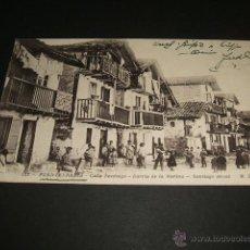 Postales: FUENTERRABIA GUIPUZCOA CALLE SANTIAGO BARRIO DE LA MARINA. Lote 43533008