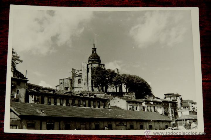 FOTOGRAFIA DE PORTUGALETE (VIZCAYA).- AÑOS 50 - MIDE 10,3 X 7,3 CMS. (Postales - España - Pais Vasco Antigua (hasta 1939))