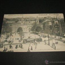Postales: BILBAO PASEO DEL ARENAL TRANVIA. Lote 43602724