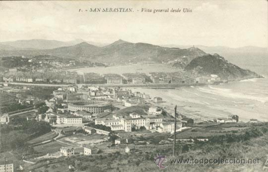 POSTAL SAN SEBASTIAN - VISTA GENERAL DESDE ULIA (Postales - España - País Vasco Moderna (desde 1940))
