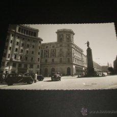 Postales: BILBAO PLAZA DE ESPAÑA ESTACION DEL NORTE. Lote 43818759