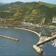 Postales: POSTAL ONDARROA-VIZCAYA, VISTA AEREA DEL PUERTO, SIN CIRCULAR. Lote 43851348