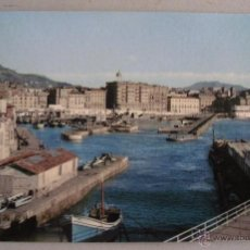 Postales: POSTAL DE SAN SEBASTIAN - EL PUERTO (SIN CIRCULAR, DEP LEG 1959, MANIPEL). Lote 44086144
