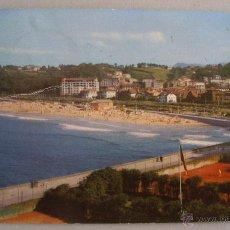 Postales: POSTAL DE SAN SEBASTIAN - PLAYA DE ONDARRETA (CIRCULADA 1959, DEP LEG 1958, MANIPEL). Lote 44086170