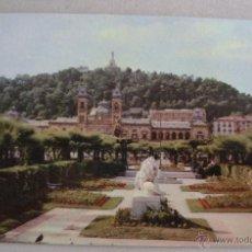 Postales: POSTAL DE SAN SEBASTIAN - PARQUE DE ALDERDI-EDER (SIN CIRCULAR, DEP LEG 1958, MANIPEL). Lote 44086198