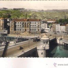 Postales: POSTAL DE BILBAO PUENTE DEL GENERAL MOLA Y AYUNTAMIENTO .. Lote 44100478