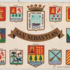 Postales: POSTAL-SAN SEBASTIAN. Lote 44106277