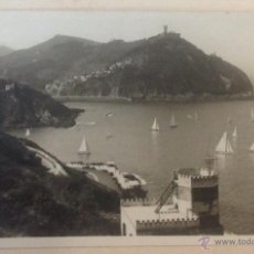 Postales: POSTAL SAN SEBASTIAN. VISTA DESDE EL MONTE URGULL. FOTO. GALARZA.. Lote 44232921