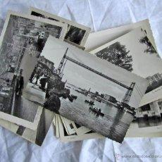 Postales: 25 POSTALES DE BILBAO BLANCO Y NEGRO Y ALGUNA COLOREADA. Lote 44260959