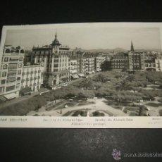 Postales: SAN SEBASTIAN JARDINES DE ALDERDI EDER. Lote 44468544