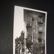 Postales: PASAJES DE SAN JUAN GUIPUZCOA DETALLE DE LA PLAZA DE SANTIAGO. Lote 44469833