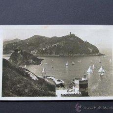 Postales: POSTAL SAN SEBASTIAN / VISTA DESDE EL MOMTE URGULL / GALARZA / ESCRITA 1952. Lote 44638496