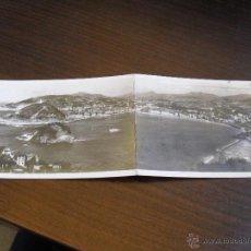 Postales: POSTAL DE SAN SEBASTIAN - 2 VISTA GENERAL DESDE EL MONTE IGUELDO. FOTO GALARZA . Lote 45000279