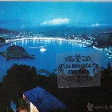 Postales: POSTAL - GUIPUZCOA - SAN SEBASTIAN VISTA NOCTURNA - BEASCOA - NO CIRCULADA. Lote 45339570