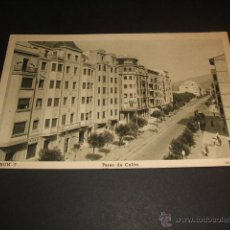 Postales: IRUN GUIPUZCOA PASEO DE COLON. Lote 45444564