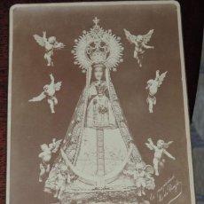Postales: FOTOGRAFIA ALBUMINA, DE NUESTRA SEÑORA DE BEGOÑA, L. DE PREGIL, MIDE16,5 X 10,8 CMS. SIGLO XIX. Lote 45470244