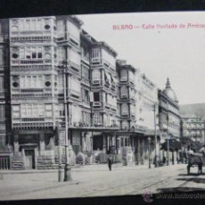Postales: BILBAO.- CALLE HURTADO DE AMÉZAGA.. Lote 45538163