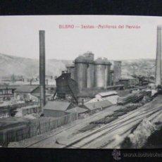 Postales: BILBAO - SESTAO .- ASTILLEROS DEL NERVIÓN. Lote 45538263