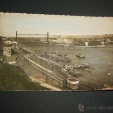 Postales: PORTUGALETE VIZCAYA VISTA DE LAS ARENAS Y ALGORTA. Lote 45548225