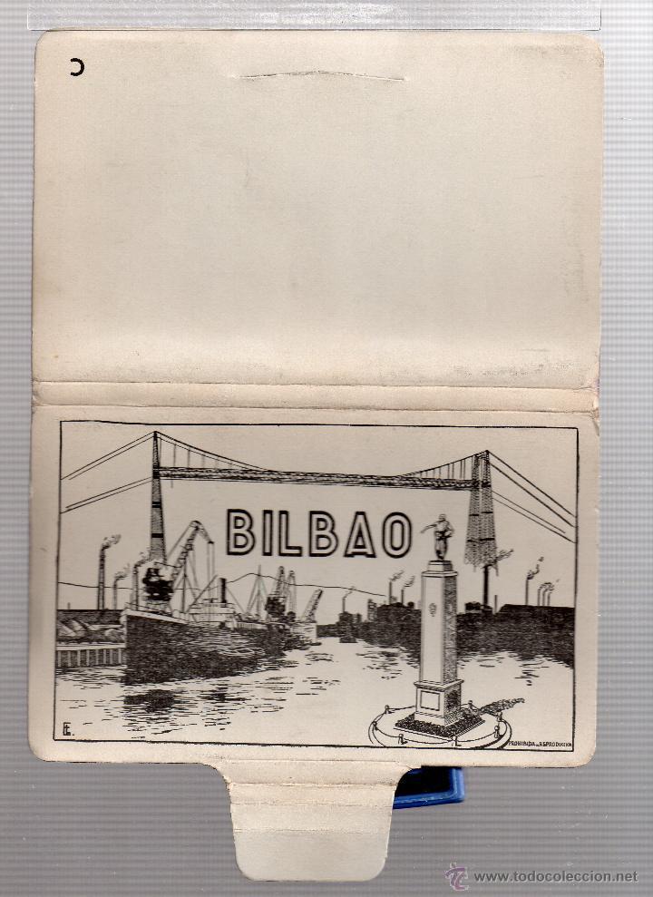 BLOC DE 10 POSTALES DE BILBAO EDICIONES GARCIA GARRABELLA Y CIA VER FOTOS ADICIONALES (Postales - España - País Vasco Moderna (desde 1940))