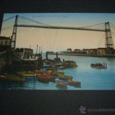 Postales: BILBAO PORTUGALETE PUENTE DE VIZCAYA . Lote 45598658