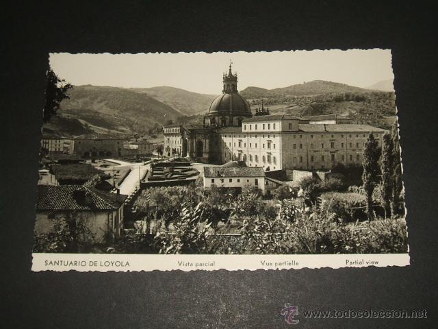 LOYOLA GUIPUZCOA SANTUARIO VISTA PARCIAL (Postales - España - Pais Vasco Antigua (hasta 1939))