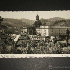 Postales: LOYOLA GUIPUZCOA SANTUARIO VISTA PARCIAL. Lote 45633083