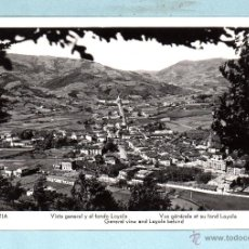 Postales: POSTAL DE AZAPEITIA VISTE GENERAL SIN CIRCULAR VER FOTOS . Lote 45683758