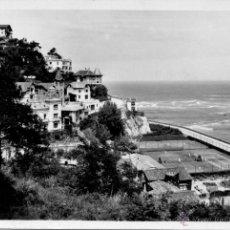 Postales: POSTAL SAN SEBASTIAN. 66 CAMPO DE TENNIS DE ONDARRETA. CIRCULADA 1943. FOTO GALARZA. Lote 45753783