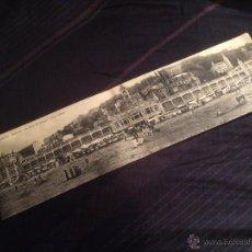 Postales: SAN SEBASTIAN, VISTA GENERAL DEL BALNEARIO LA PERLA DEL OCÉANO 1912. Lote 45918311