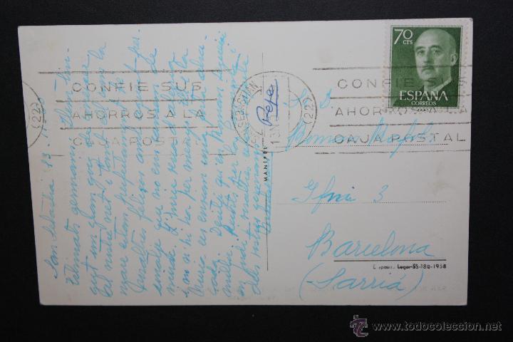 Postales: ANTIGUA FOTO POSTAL DE SAN SEBASTIAN. REGATAS DE BALANDROS. CIRCUADA - Foto 2 - 45940169
