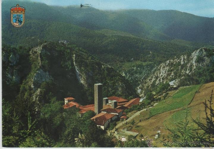 POSTAL-VISTAS DE ARANTZAZU (Postales - España - País Vasco Moderna (desde 1940))