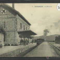 Postales: ZARAUZ - 6 - LA ESTACION - FOTOGRAFICA - ED· G.GALARZA - (26463). Lote 46078163