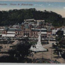 Postales: POSTAL SAN SEBASTIÁN: PARQUE DE ALDERDI-EDER. Lote 46112720