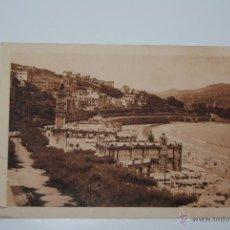 Postales: POSTAL BALNEARIO DE LA PERLA -SAN SEBASTIAN 1926 ESCRITA Y CIRCULADA. Lote 46238158