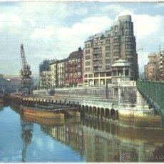 Postales: BILBAO - MUELLE DE RIPA. Lote 46286019