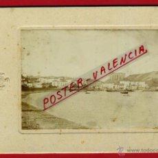 Postales: TAMAÑO POSTAL , FOTO ZUMAYA , VISTA GENERAL , ANTIGUA FOTOGRAFICA , ALBUMINA , ORIGINAL,L. Lote 46330364
