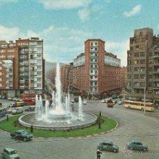 Postales: Nº 18415 POSTAL BILBAO FUENTE MONUMENTAL DE LA PLAZA ZABALBURU. Lote 46447521