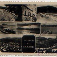 Postales: POSTAL MULTI VISTAS ZARAUZ RECUERDO GUIPUZCOA. Lote 46645238
