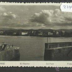 Postales: ZARAUZ - 4 - EL PUERTO - FOTOGRAFICA GAR (27798). Lote 46904086