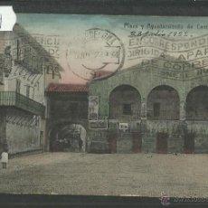 Postales: CESTONA - PLAZA Y AYUNTAMIENTO - (27804). Lote 46904182
