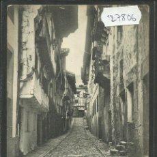 Postales: FUENTERRABIA - CALLE DE PAMPINOT - 1500 - HAUSER Y MENET (27806). Lote 46904222